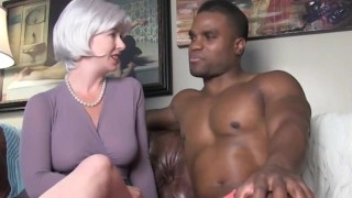 Experienced woman taught boy